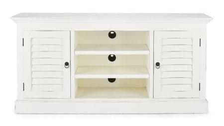 Flat Screen TV Stand w/ Shutter Style Doors santa barbara design center 40330-