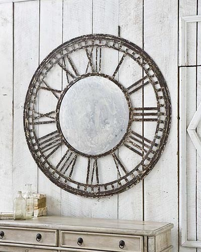 Clock Mirror Accessories Santa Barbara