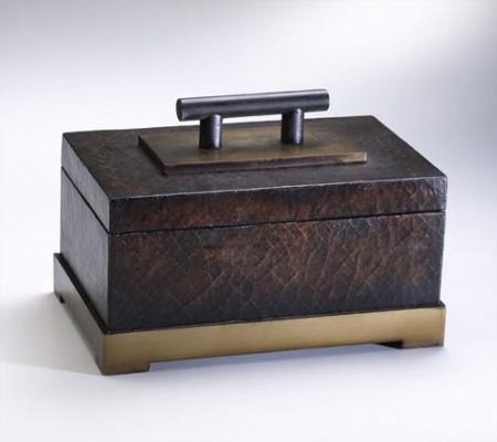Box with Bronze Trim Santa Barbara