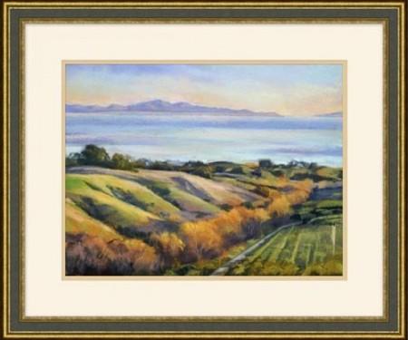 Ocean Landscape Painting Santa Barbara