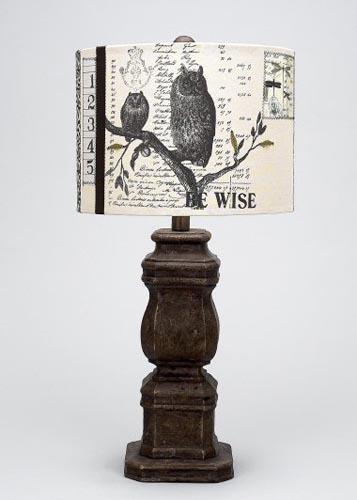 Owl Lamp Santa Barbara