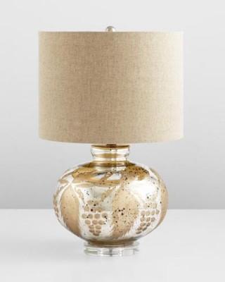 Golden Grapes Table Lamp Santa Barbara