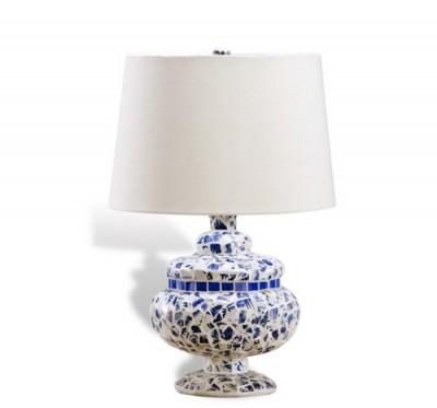 Ceramic Mosaic Lamp Santa Barbara