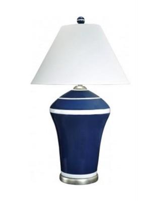 Blue Stripe Table Lamp Santa Barbara