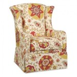 Mike Wingback Chair Santa Barbara