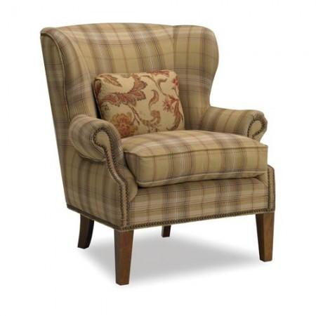 Cade Wingback Chair Santa Barbara