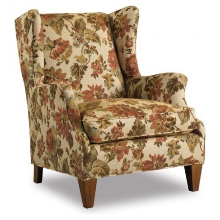 Amanda Wingback Chair Santa Barbara