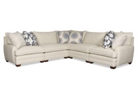 5 piece Massey Sectional Sofa Santa Barbara