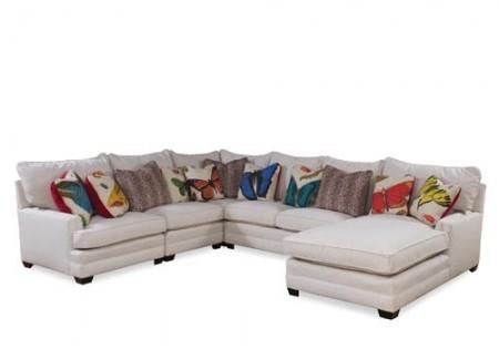 5 piece Mary Sectional Sofa Santa Barbara