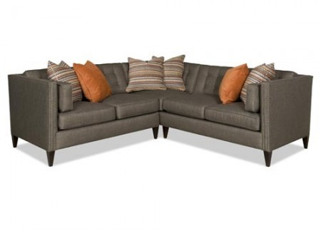 2 piece Edel Sectional Sofa Santa Barbara