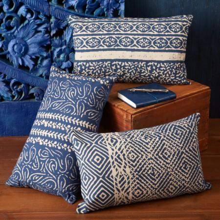 Batik Pillow Decorative Objects Santa Barbara