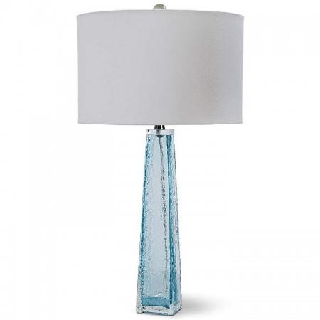Blue Glass Lamp Santa Barbara