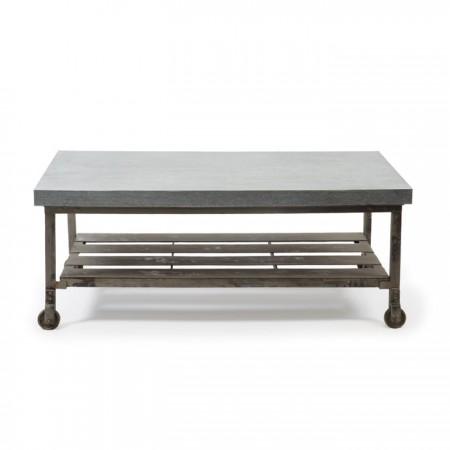Galvanized Steel Coffee Table Santa Barbara