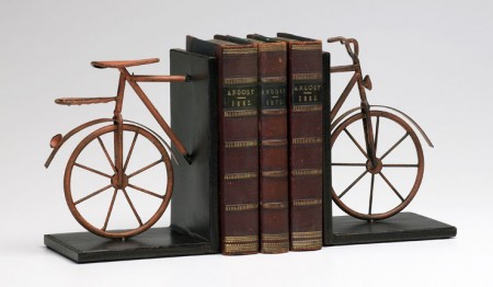 Bicycle Bookends Santa Barbara