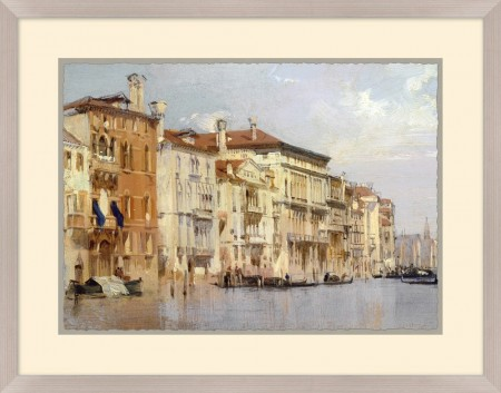 Venetian Canals Painting Art Santa Barbara
