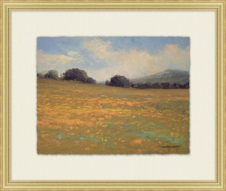 Summer Fields 3 Painting Art Santa Barbara