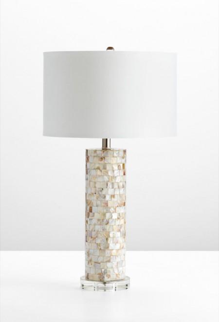 Mother of Pearl Table Lamp Santa Barbara