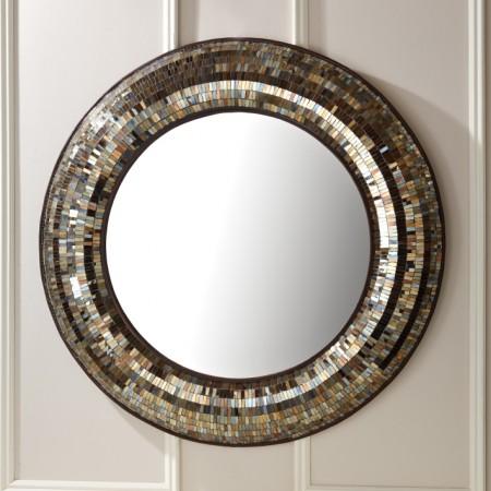 Gold Mosaic Wall Mirror Santa Barbara