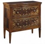 Continental 2 Drawer Chest Santa Barbara