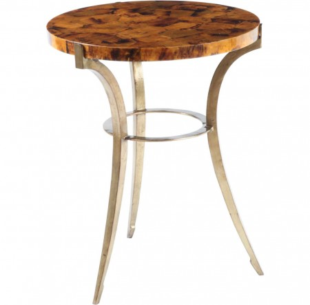 Round Shell Side Table Santa Barbara