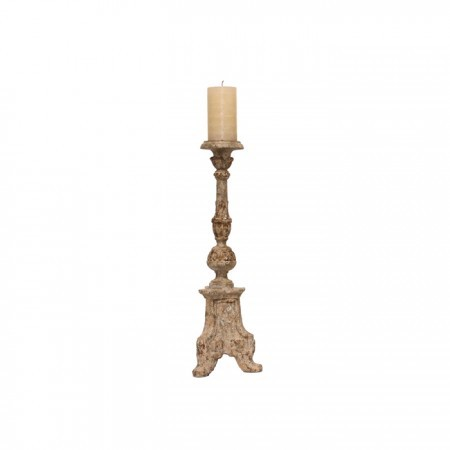 Scroll Leg Candlestick Santa Barbara