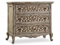 3 Door Fretwork Nightstand Santa Barbara