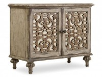 Fretwork 2 Door Nightstand Santa Barbara