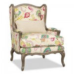 Kyrie Wing Chair Santa Barbara