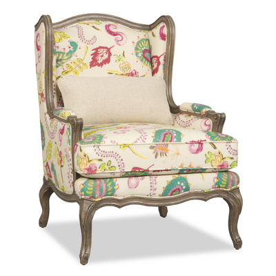 Kyrie Wing Chair Santa Barbara