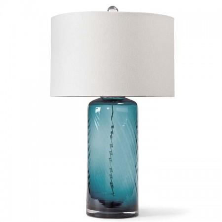 Textured Glass Lamp Santa Barbara