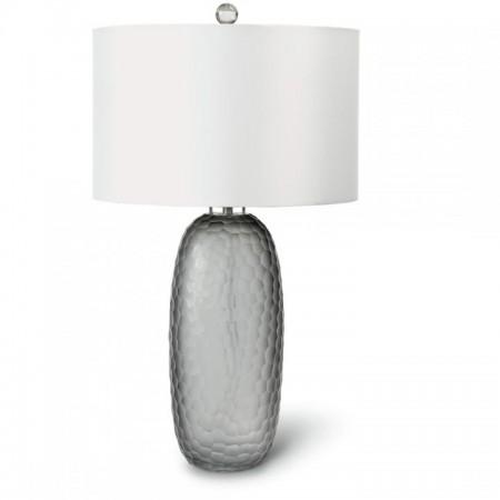 Smoked Glass Lamp Santa Barbara