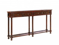 Diamond Top Console Table Santa Barbara