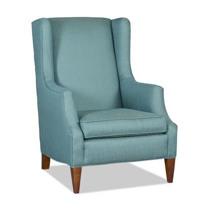 Tennyson Wingback Lounge Chair Santa Barbara