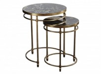 Valjean Nesting Tables Santa Barbara