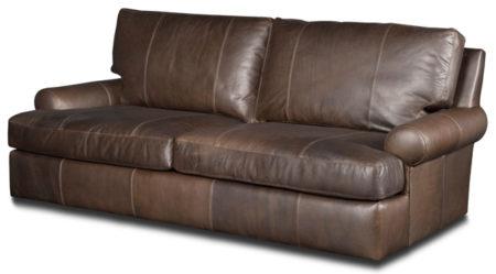 Irene Leather Sofa Santa Barbara Design Center