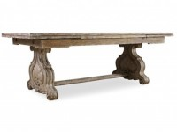 Little Castle Trestle Dining Table Santa Barbara