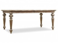 Little Castle Extendable Dining Table Santa Barbara