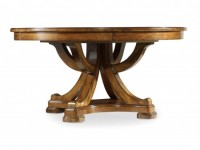 Edinburgh Extendable Round Dining Table Santa Barbara