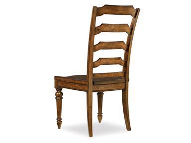 Edinburgh Ladderback Side Chair Santa Barbara