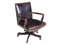 Leather Swivel Chair Santa Barbara