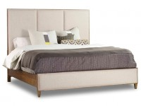 Modern Upholstered Queen Bed Santa Barbara