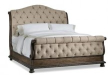 Aurora Upholstered King Bed Santa Barbara