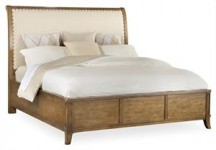 Shelham Upholstered Headboard Queen Bed Santa Barbara