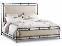 Metal Rimmed King Bed Santa Barbara