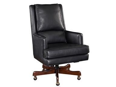 Charcoal Swivel Desk Chair Santa Barbara
