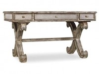 Petra Mirrored Writing Desk Santa Barbara