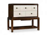 Arjona Two Drawer Nightstand Santa Barbara