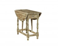 Distressed Drop Lea Table Santa Barbara