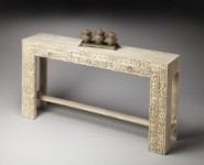Hand Carved Console Table Santa Barbara
