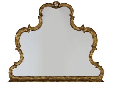 Katherina Gold Mirror Santa Barbara